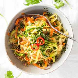 Vegetable Noodle Stir-Fry.