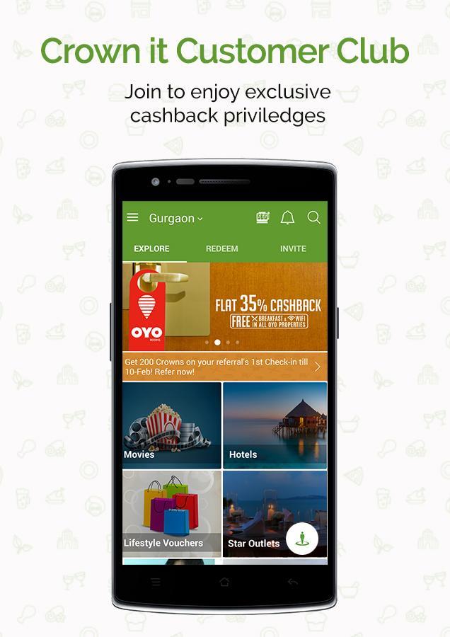 Crown it mobile app