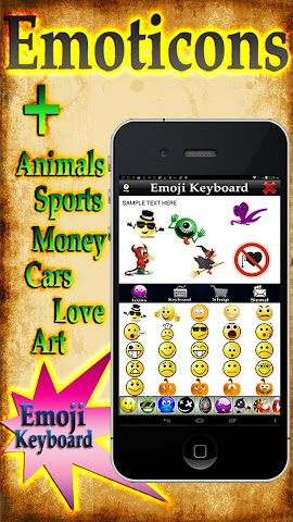 android Emoji 3 - More Emoticon Packs Screenshot 3