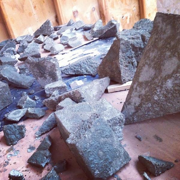 Photo: Rubble rubble...
