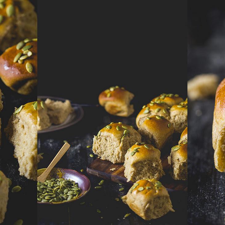 Rye Milk Bread Slider Rolls