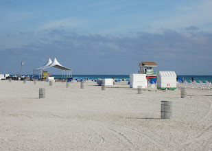 Photo: South Beach aikaisin aamulla