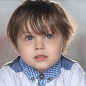 Logan by Barry Smith - Babies & Children Child Portraits ( son, potrait, children, portrait, backlit )