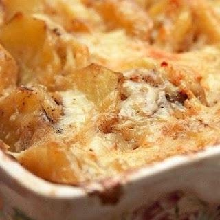 Potato gratin in French