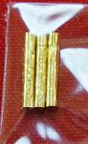 """ตะกุดทองผังแขน หลวงพ่อคูณ วัดบ้านไร่ เนื้อทองคำแท้ ทอง 96 % 3 ดอก """"สวยเก็บเดิมๆ"""""""