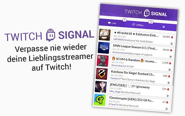 Twitch Signal