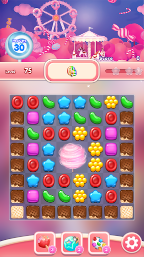 Crush the Candy: #1 Free Candy Puzzle Match 3 Game 1.0.5 screenshots 6