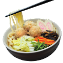TSUKUNE UDON(CHICKEN MEATBALL)