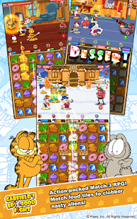 Garfield's Epic Food Fight- screenshot thumbnail