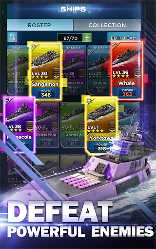 Battleship & Puzzles: Warship Empire Match modavailable screenshots 7