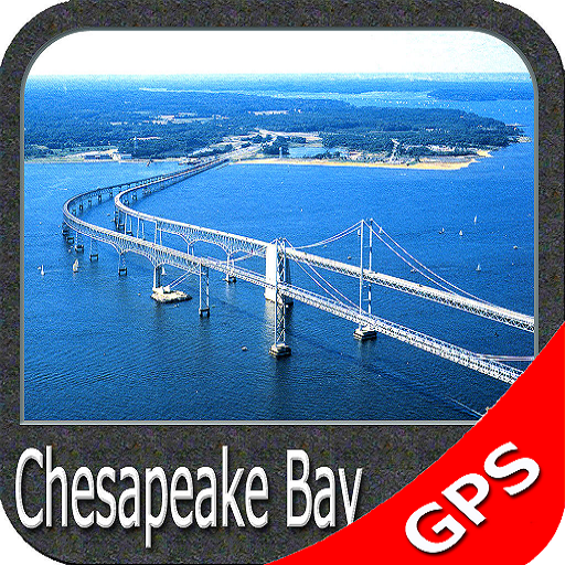 Cheesapeake Bay GPS Map Navigator app for Android