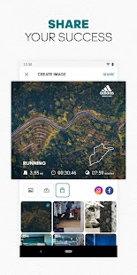 adidas Running by Runtastic - Fitness Run Tracker Screenshot