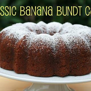 Classic Banana Bundt Cake Recipe