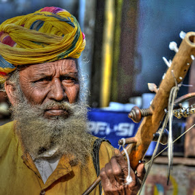 The Musician by Rakesh Das - People Professional People
