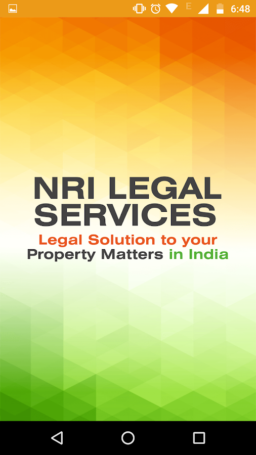 NRI Legal Services- screenshot