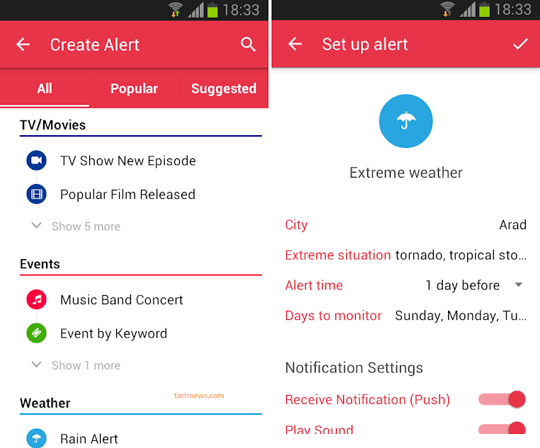 Hooks adauga notificari de orice tip pe Android