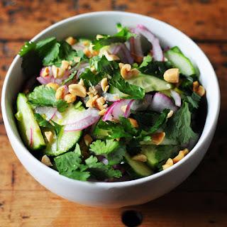 Easy Thai-Style Cucumber Salad