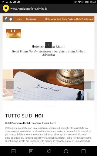 Hotel zona fiera Rimini