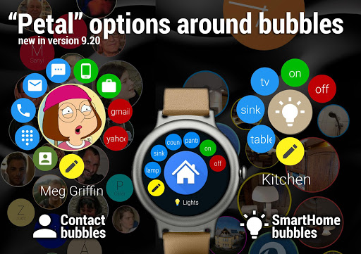 Bubble Cloud Wear Launcher Watchface (Wear OS) 9.39 screenshots 10