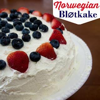 Norwegian Blotkake.