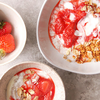 CHIA PUDDING with STRAWBERRY COULIS Recipe
