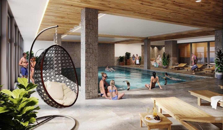 Appartement avec terrasse et piscine Les deux alpes