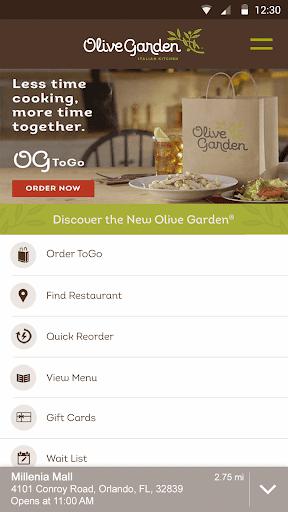 Olive Garden Italian Kitchen screenshot 1