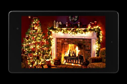 Christmas Fireplace LWP 1.0 screenshots 10