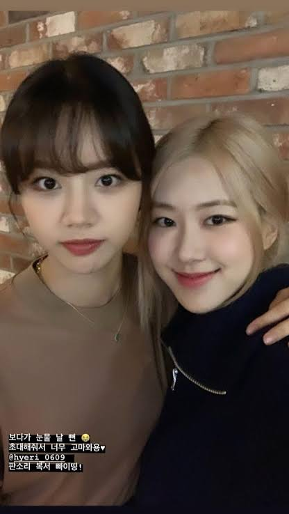 hyeri and rose2