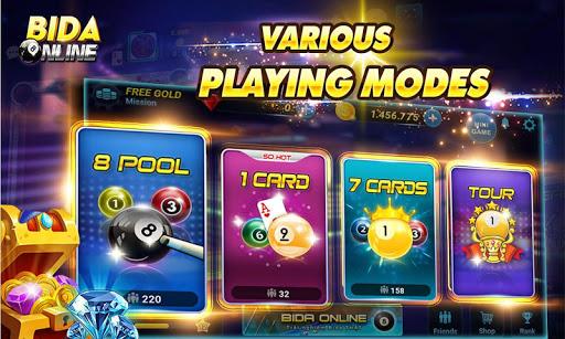 Bida Online: 8 Pool Pro, 7 Ball, 1 Ball  1
