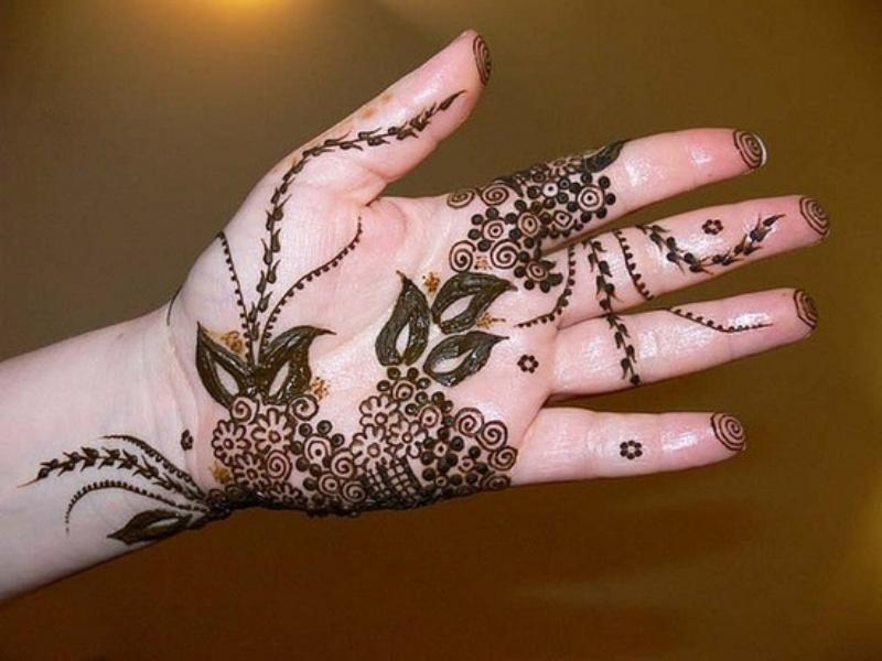 Designs Of Mehndi For Palm : Top gujarati mehendi designs for the perfect day weetnow