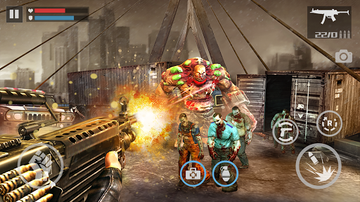 zombie shooter-dead warfare screenshot 2