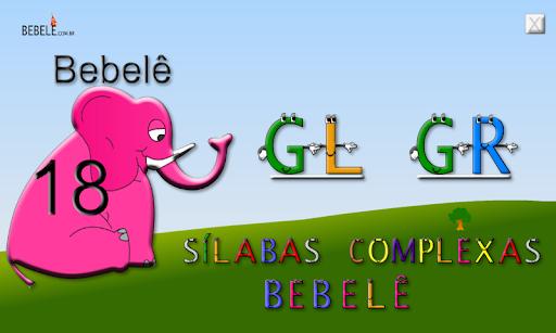 Sílabas Complexas GL GR 1.0.0 screenshots 1