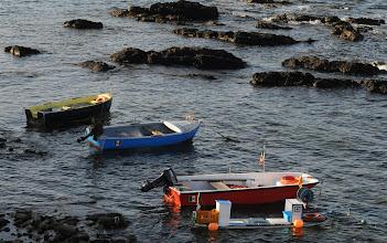 Photo: kleine Fischerboote im Mittelmeer