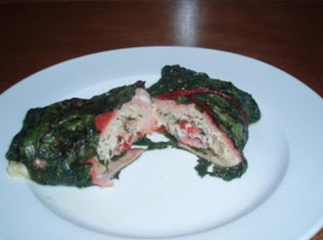 Swiss Chard Bundles Recipe