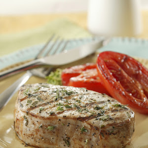 Herbed Marinated Pork Chops