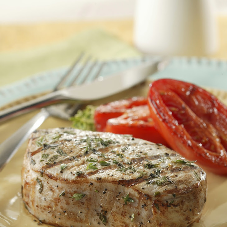 Herbed Marinated Pork Chops Recipe
