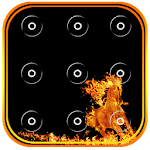 Fire Pattern Screen Lock 1.0 Apk