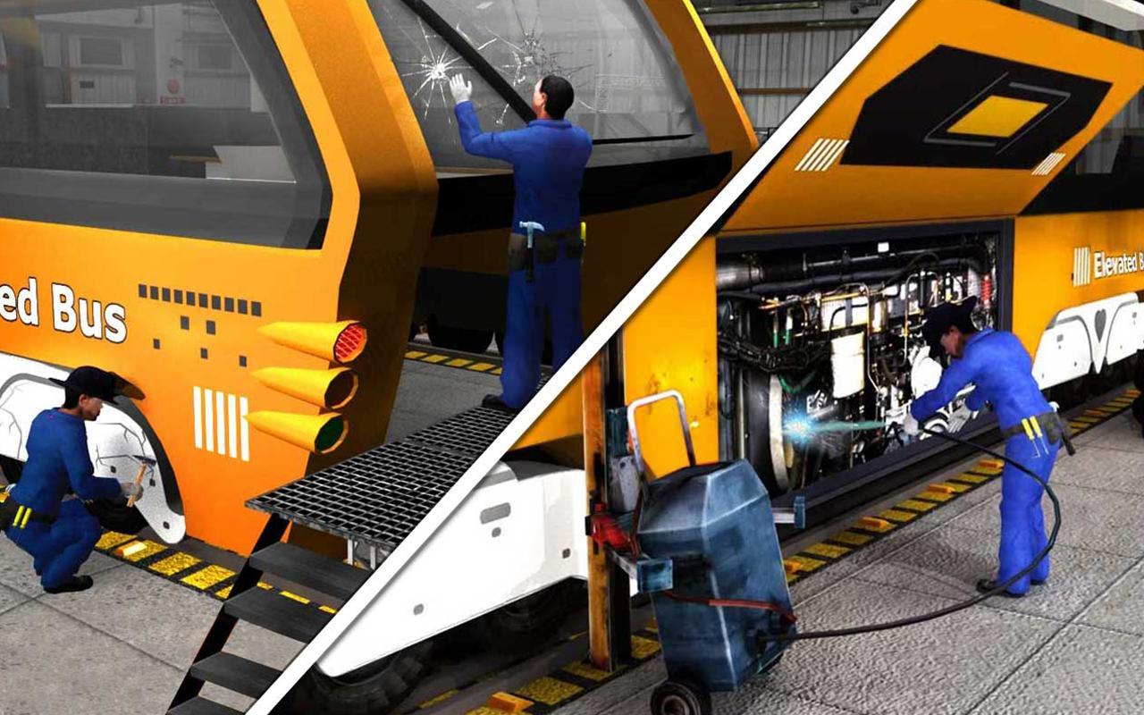Bus mechanic auto repair shop car garage simulator for Garage fix auto nimes