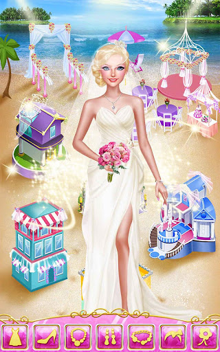 Seaside Wedding Salon Girl SPA screenshot 12