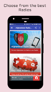 Afghanistan Radio Stations- screenshot thumbnail