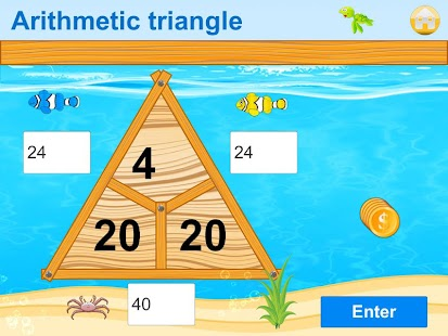 Math Island Preschool 1.Class- screenshot thumbnail