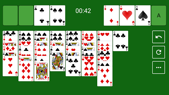 FreeCell Solitaire Capture d'écran