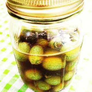 Vinegar Pickled Gherkins Recipes.