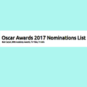 2017 Oscar Awards Nominations