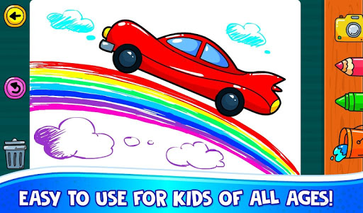 ud83dude97 Learn Coloring & Drawing Car Games for Kids  ud83cudfa8 4.0 screenshots 9