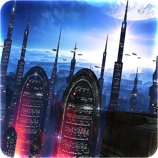 Space Colony Icon