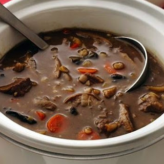 Weight Watchers Absolutely Most Delicious Beef And Mushroom Soup