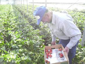 Photo: おおー! 井上さん! 農家の方かと思いましたよ!