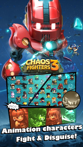 Chaos Fighters3 - Kungfu fighting - screenshot